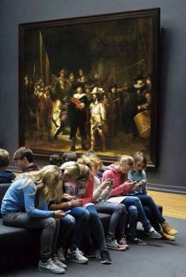 schoolchildren_rembrandt_night_watch