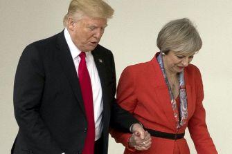 Trump and May